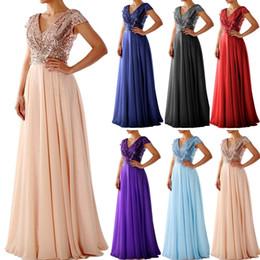 $enCountryForm.capitalKeyWord Australia - Elegant Women Sleeveless Maxi Dresses Glitter Sequin Embellished Evening Prom Dress Formal Dresses Long Elegnt Even Dress