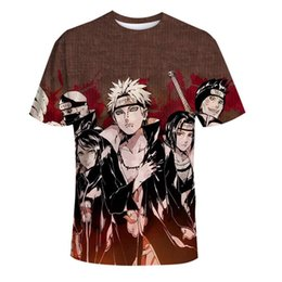 $enCountryForm.capitalKeyWord Australia - Naruto 3d T Shirt Men women Uchiha Itachi Sasuke Kakashi Gaara Japan Anime Funny Tees Top Summer Fashion Tshirt Casual T-shirt
