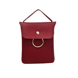 Two Face Coin UK - Cheap FashionFashion Women Cross-body Shoulder Handbag Phone Bag Coin Bag Quality Pu leather Soft Face Women Simple Fashion Women Handbag