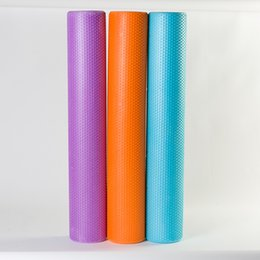 Floating Blocks Australia - Foam Shaft 90*15cm Floating Point Foam Roller Solid Yoga Column