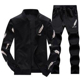 Wholesale joggers hoodie for men online – oversize 2020 Autumn PC Hooded suits for Men Set Sportsuit Tracksuit Homme Sweat Sweatshirt Mens Hoodie jogger Chandal Sudaderas Hombre