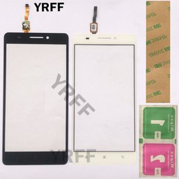 $enCountryForm.capitalKeyWord Australia - Mobile Front Outer Glass Touch Screen Digitizer For Lenovo S8 A7600 A7600M Touch Screen Front Glass Phone Repair Panel 3M Glue