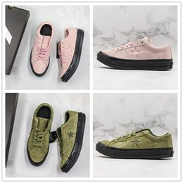 canvas one shoes NZ - Creator x One Star Ox Golf Le Fleur TTC Jolly Hip Hop Sneaker Trainer Canvas Shoes Star 1970s Vintage Suede Vintage Skate Shoes
