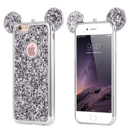 $enCountryForm.capitalKeyWord Australia - 3D Cartoon Glitter Briliance Case for IPhone X XS MAX XR 10 8 8P 7 Plus 6 S 6s Plus 6plus 7plus Case Phone Big Ear Luxury Designer Cover New