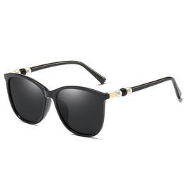 $enCountryForm.capitalKeyWord Australia - Women's Brand Cat Eye Sunglasses Women's Pearl Sunglasses Women's Crystal Glasses Frame Goggles Glasses High Quality HD Lens Free Shipping