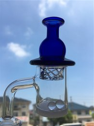 $enCountryForm.capitalKeyWord Australia - 100% Real Quartz 25mm XL Opaque Thermal Quartz Banger Large Spinning Carb Cap Quartz Terp Pearl Beads For Dab Rig Water Pipe Bong