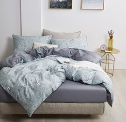$enCountryForm.capitalKeyWord Australia - 2018 Luxury Satin Egyptian Cotton Bedding Set Boho printing Duvet Cover+Flat Sheet+2 Pillowcases King Queen Size