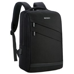 Wholesale Business Laptop Backpack inch Fashion Men Travel Back Pack Multifunction Nylon School Black Bagpacks For Teenagers