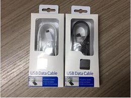 45 cable online shopping - 1 m Black White Micro USB Fast Charger Cable Data Sync Charging for Samsung Galaxy S6 s7edge Note S4 S3 With retail box