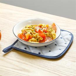 $enCountryForm.capitalKeyWord Australia - Elegant Ya Line Household Fabric Insulation Pad Kitchen Table Mat Coaster Bowl Pad Pot Plate Anti-Hot Heat
