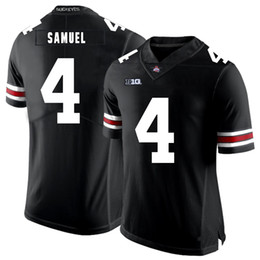 4d052d2ff Curtis Samuel Stitched Mens Ohio State Buckeyes Darron Lee White Black Red  Game NCAA College Jersey