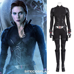 $enCountryForm.capitalKeyWord Australia - SITECOSPLAY 2019 Avengers 4 Endgame Black Widow Halloween Cosplay Costume Superhero Natasha Romanoff Scarlett Women Outfit Jumpsuit