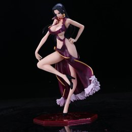$enCountryForm.capitalKeyWord Australia - One Piece Boa Hancock Battle Damaged Ver. OP Hancock Sexy Big Chest Swimsuit BB PVC Action Figure Collection Model 23cm