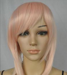 $enCountryForm.capitalKeyWord Australia - WIG shipping Fashion sexy Women lady girls short pink Party Natural Hair wig