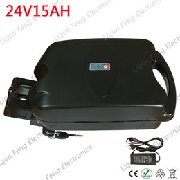 electric bike battery charger 24v Australia - 24V Electric Bike Battery 24V 15AH F rog Case Li-ion Battery for 250W 350W 500W Motor with Case BMS With US EU 2A Charger.