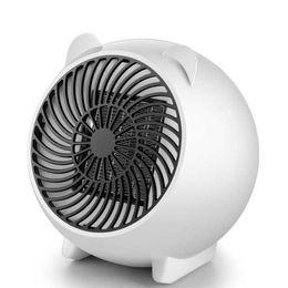 Intelligent Cartoons Australia - Cute cartoon mini heater Desktop small household automatic power intelligent temperature control low noise no light heating fan