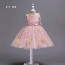 76bffcfce79 Girls 4 to 12 years Summer pearls Rhinestones tutu dresses