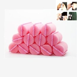 $enCountryForm.capitalKeyWord NZ - curler roller tool 12 Pcs Soft Curler Roller Curl Bendy Rollers DIY Magic Hair Curlers Tool Styling Rollers Sponge