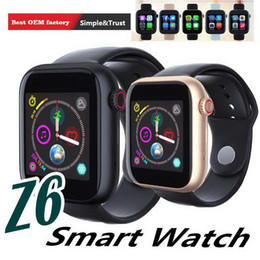 $enCountryForm.capitalKeyWord Australia - Z6 Bluetooth Smart Watch GSM SIM TF Card Slot 2.0MP Camera Smartwatch For Apple iPhone Huawei Samsung Android Smartphones