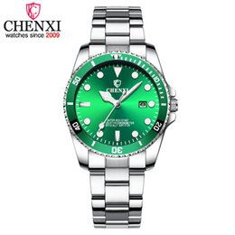 CHENXI Fashion Casual Watch Women Golden Luxury Quartz Watches Women's Date Clock montre femme Brand Wristwatches 2018 New xfcs on Sale