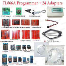 $enCountryForm.capitalKeyWord Australia - Freeshipping Universal USB Programmer TL866A EPROM FLASH BIOS 24 Adapters Extractor Clip  100% Original