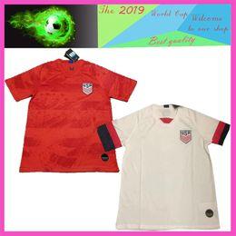 d6ae7f261 Top quality 2019 World cup America Soccer Jersey United States Shirt USA  women 3 star LLOYD RIPINOE KRIEGER Football Uniform Female 19 20