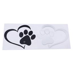 $enCountryForm.capitalKeyWord UK - Cute Dog Love Heart Car Sticker Animal Cartoon Dog Cat Pet Love Heart Personality Decoration Car Stickers