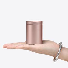 $enCountryForm.capitalKeyWord NZ - 47x65mm Small Cylinder Beautiful Metal Box Tea Tin Box Storage Box Square Sealed Cans Coffee Tea Tin Container