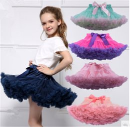 wholesale tutus Australia - Childrens Mesh Dress Tutu Princess Dress Girls Skirt Tutus Skirt Dance Dresses Full Skirt Autumn And Winter Christmas European and American