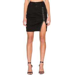 $enCountryForm.capitalKeyWord UK - feitong Female Solid Zipper Sexy Hot Fashion Casual Women Abouve Knees Mini Skirt Tight Slim faldas mujer moda 2019 harajuku