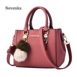 Names Ladies Handbags Australia - Nevenka Women Bag Pu Leather Tote Brand Name Bag Ladies Handbag Lady Evening Bags Solid Female Messenger Bags Travel Fashion Sac J190426