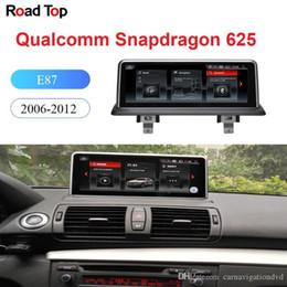 """Toptan satış 10,25"""" BMW Serisi 1 E87 Araba 2006-2009 Dokunmatik Ekran Stereo Dash Multimedya Player için Android 9.0 işletim sistemi GPS Navigasyon Ekran"""