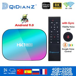 android tv box fast Australia - Smart TV BOX hk1box Android 9.0 1000M Amlogic S905X3 8K Dual Wifi BT Netflix Fast Set top hk1 x3 PK HK1MAX H96 a95x