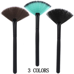 loose brush makeup NZ - Maange 1 Pcs Makeup Brush Cosmetic Single Blush Loose Powder Makeup Brush Makeup Fan Brush Tools Powder Brochas Maquillaje
