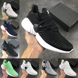 AlphA bounce sneAkers online shopping - 2020 AlphaBounce Beyond Running Sports Shoes for man brand Kolor triple black white grey Alpha Khaki bounce women sport Trainer Sneakers