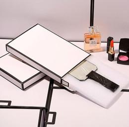 Sale Cosmetics Box Australia - Hot sale !2019 Classic CC acrylic makeup handle mirror portable vanity mirror with gift box Cosmetic Accessories Wedding Gift (Anita Liao)