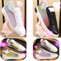 Discount top basketball shoe brands - 2019 Hot fashion LUXEMBOURG Casual Shoes Brand Trainer 3M White Leather Designer shoes Rivoli Boombox Men Low Top Fashio
