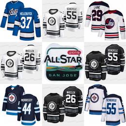 Winnipeg Jets 2019 All Star 55 Mark Scheifele 26 Blake Wheeler Patrik Laine  Connor Hellebuyck Laurent Brossoit Dustin 33Byfuglien Jerseys 5ccc5cf31