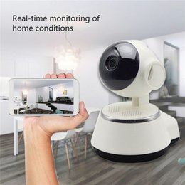 wireless cameras Australia - CYSINCOS Home Video Camera 720P HD WiFi IP Camera Wireless APP Control Security IR Night Vision Camcorder Home Baby Monitor