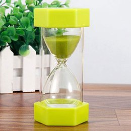 $enCountryForm.capitalKeyWord Australia - Hexagonal Sand Timer Sand Clock Kid Gift Hourglass Sandglass 5 10 15 mins Household Game Drop Resistance Kitchen Timer