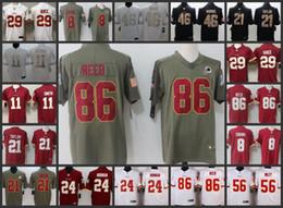 Washington Men Redskins Embroidery Jersey  8 Kirk Cousins 11 Alex Smith 21  Sean Taylor 86 Reed Women Youth Football Jerseys 88b5bd24b