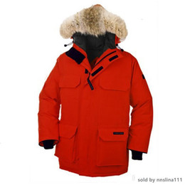 winter parka jackets for men Australia - Hot sale Canada Warm Manteau Fur Hooded Thick Winter Men Goose Down Jacket for Canada Male Chaquetas Overcoat Man Outwear Expedition Parka