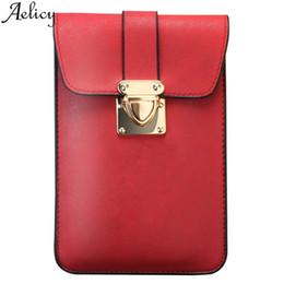 $enCountryForm.capitalKeyWord Australia - Aelicy Fashion Shoulder Bag Ladies Messenger Bags Mobile Phone Bag High Quality Leather Hand Purse Wallets Long Women