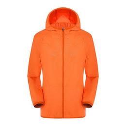 Fashion Quick Dry Skin windbreaker sun protection Anti-UV Coats Outdoor Sports Clothing Camping skin Jacket 10pcs per lot on Sale