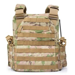 $enCountryForm.capitalKeyWord UK - 1000D Nylon Plate Carrier Tactical Vest Outdoor Hunting Protective Adjustable Vest for Men Combat Accessories