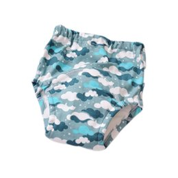 infants diaper panties Australia - 4 Layer Waterproof Reusable Baby Cotton Training Pants Infant Shorts Underwear Cloth Diaper Nappies Child Panties Nappy Changing