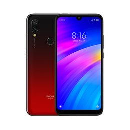 "xiaomi gps NZ - 4GB 64GB Xiaomi Redmi 7 4G LTE Octa Core Snapdragon 632 Android 9.0 6.26"" Dot Drop Full Screen GPS Rear Fingerprint Face Unlock Smartphone"
