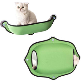 Small Suction cupS online shopping - Cat Sill Hanging Window Bed Sunbathing Installation Window Waterproof Cat Nest Suction Cup Hanging Hammock Removable ATY