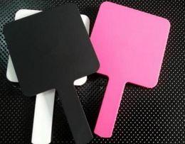 Опт ГОРЯЧИЕ 3-х цветное мини-зеркало для макияжа класса люкс с логотипом Vintage Hand Mirror Косметика Инструменты с VIP подарочной коробке