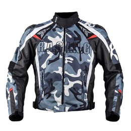 motorbike jersey 2019 - Duhan motorbike racing jacket black blue Camo Serving Jersey Camouflage King of Jungle Motorcycle Jacket super security